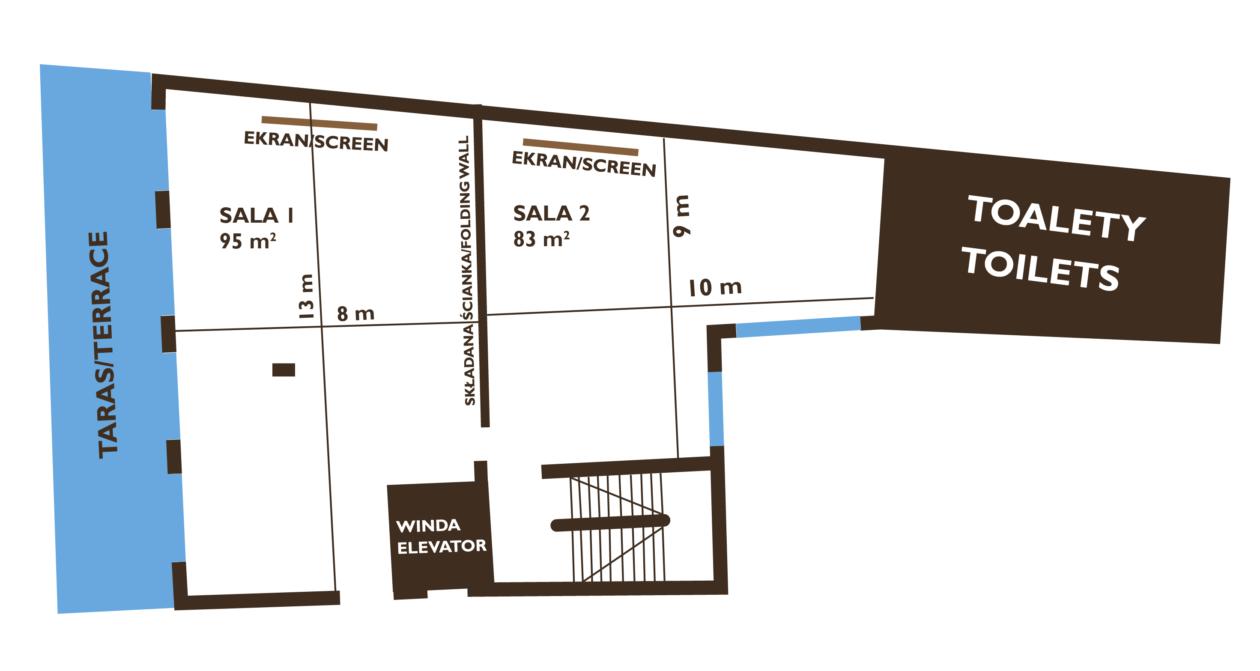 Plan sali konferencyjnej